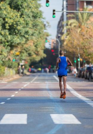 Marathon runner Stock Photo - 16450622