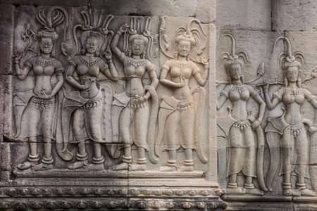 Temple embossing