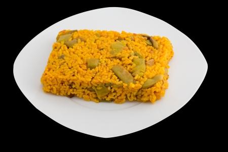 palate: Spanish Paella palate