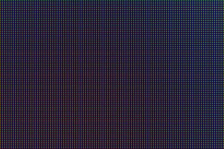 Amoled screen macro photo
