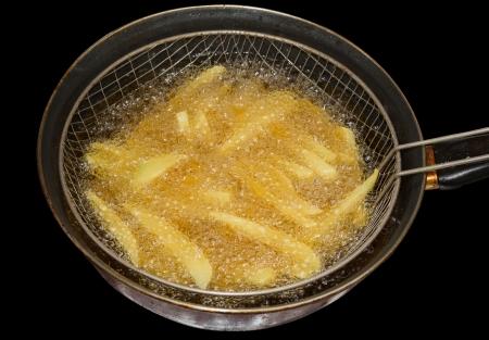 Deep fryer Stockfoto