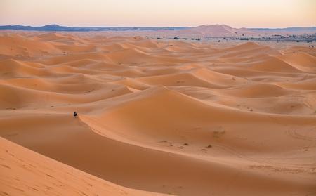 Skyline of dunes photo