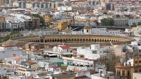 Bullfight arena photo