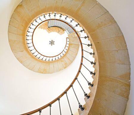 spiral staircase: Spiral staircase Stock Photo