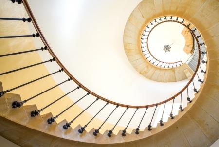 Escada em espiral Imagens