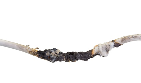 electrifying: Burnt cable
