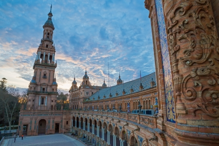 Plaza de Espa�a Stock Photo