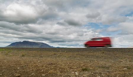 Iceland by van photo