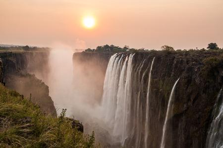 Victoria Falls do sol, Vista da Z