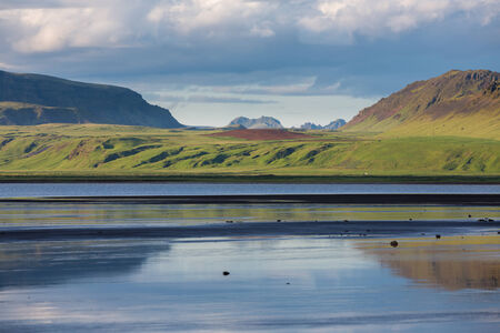 extreme terrain: The extreme terrain in Iceland