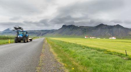 Iceland by car    trail  photo