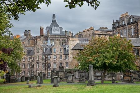 rood: Old cemetery in  Edinburgh, Scotland