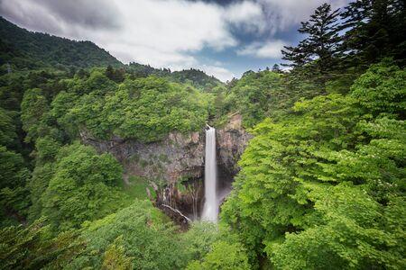 cataract waterfall: Kegon Falls in Nikko, One of the top 3 waterfalls in Japan