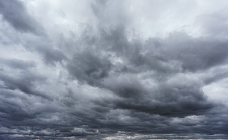 stormy clouds: Wide angle view of stormy clouds sky