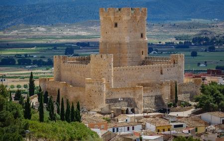 Villena Castle in Costa Blanca Alicante Spain