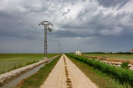 Track towards storm