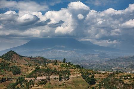 Volcano park in Rwanda