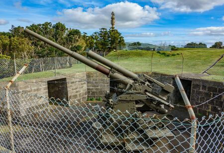 War cannon in Terceira island
