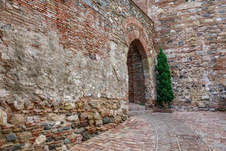 Malaga citadel entrance