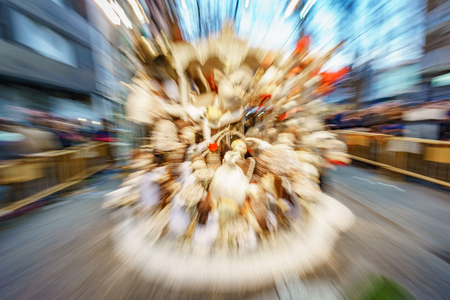 Abstract view of Falla in Valencia