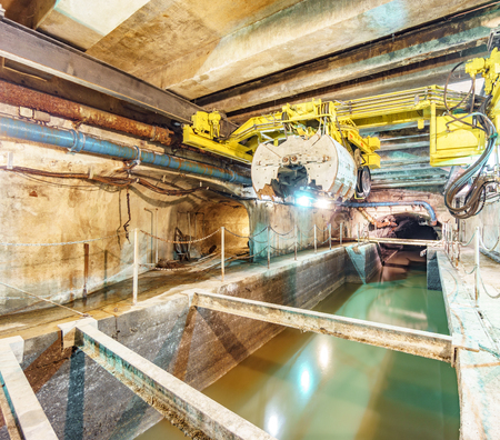 Paris Sewers system in France Zdjęcie Seryjne