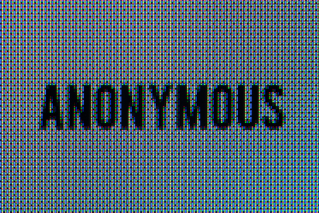 Anonymous text super macro in OLED screen