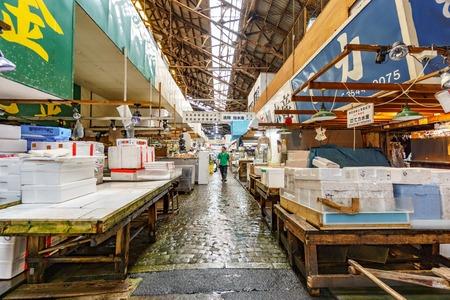 Fish market in Tokyo Imagens - 105185224