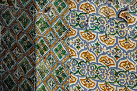 Vintage colorful tiles Stok Fotoğraf - 104388241