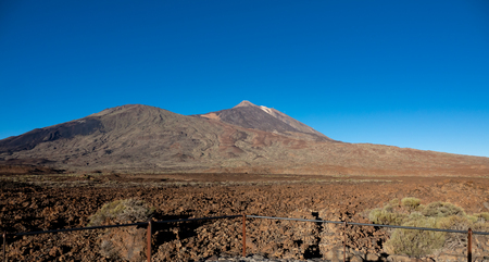 Vierwpoint to Pico viejo and teide volcano craters