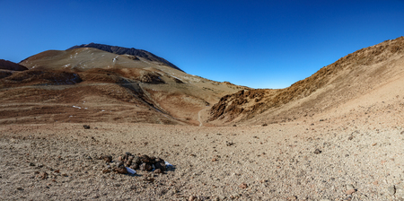 Extreme terrain in Teide volcano prepared for testing Mars rover