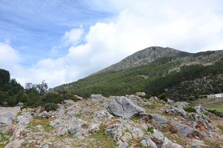 Gebirge Standard-Bild - 98781881