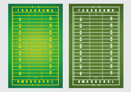 rugger: vector  illustration  background  American Football field rugby Illustration