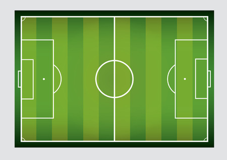 vector  illustration  background  Football field  football stadium