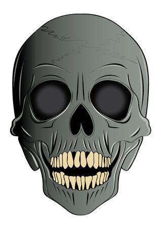 ghost mask: vector  illustration  Graphic cartoon Ghost Halloween mask