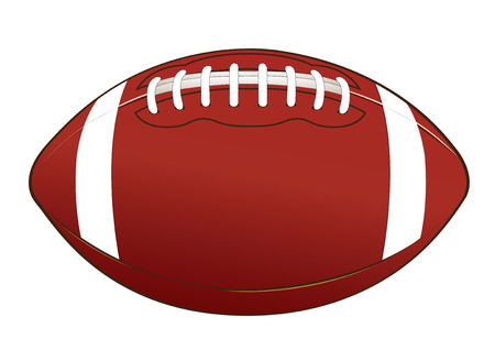 vector  illustration  Graphic American football Equipment