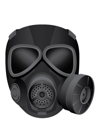 safeguarding: vector illustration graphic Gas mask guard Costume Illustration