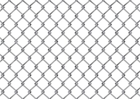 stockade: vector  illustration  Graphic Steel Grating grille grid background Illustration