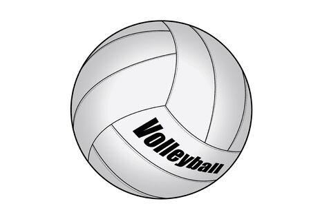 vector illustration graphic Volleyball  Equipment Sports Ilustração