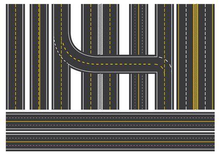 Illustration graphic of Road way Illustration