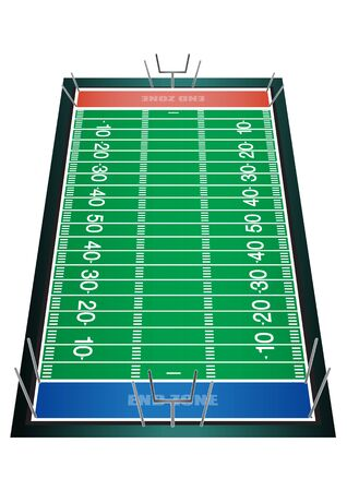 vector  illustration graphic background Field ground challenge field American football green Stadium arena playground Sport competition Sport