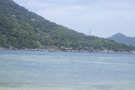 koh tao: a Iland view from koh nguyen to koh tao, thailand Stock Photo