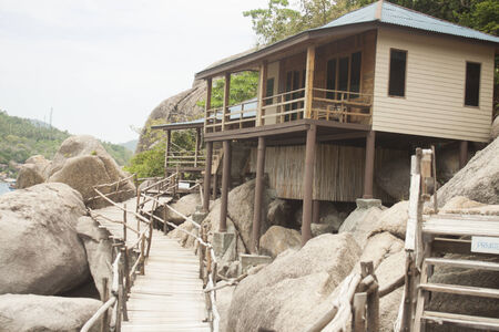 bungalow: Bungalow at Koh nunguan, in thailand