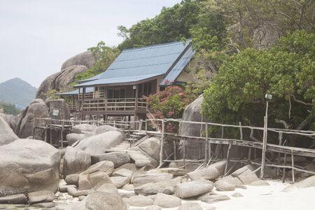 Bungalow at koh nanguan, in thailand photo