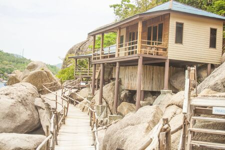 Bungalow at Koh nunguan, in thailand