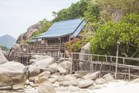 bungalow: Bungalow at koh nanguan, in thailand Editorial
