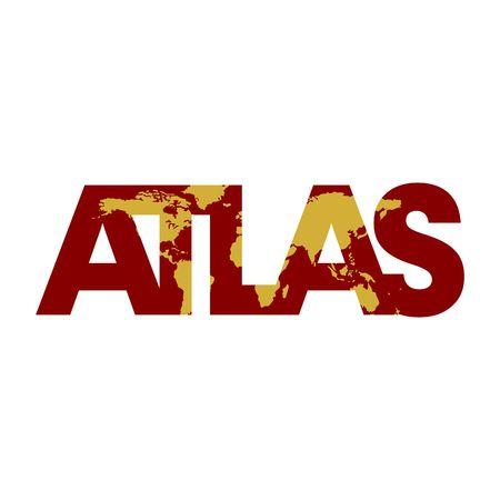 atlas vector Illustration
