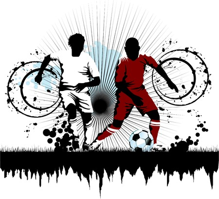 loser: soccer player attack gate of the opponent;
