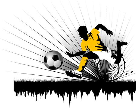 playoff: Soccer player design  Football Background   sport design,