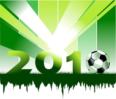 Soccer player design / Football Background /  sport design Stock Vector - 7177300
