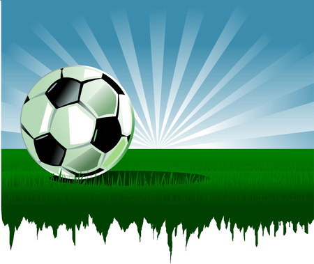 Soccer player design Stock Vector - 7596727